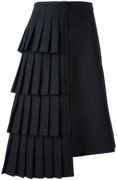 Comme des Garcons Vintage asymmetric skirt