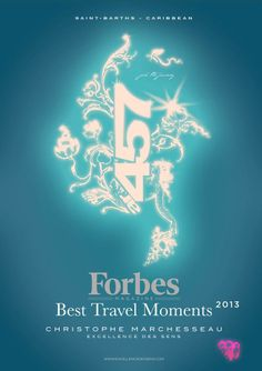 "ar457 - Excellence des Sens - St-Barth - Argan in the Island - Christophe Marchesseau spa considered ""best travel moments of 2013"""