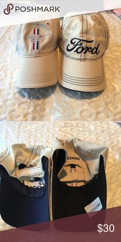 Ford Mustang hat bundle Never worn. Accessories Hats