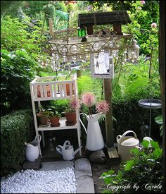 Boxwood Cottage: Summer parlor and finished garden (Eden) projects