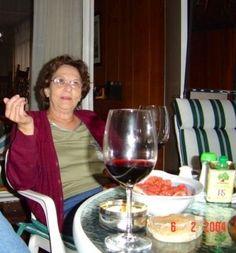 """Concepción Febrero 2004. """"Les gusto  el almuerzo  de mi cumpleaños"""""""