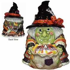 signature series gypsy witch cookie jar 34999 final one limited edition of 3500 by fitz