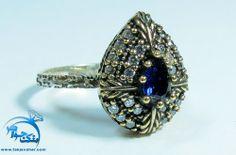انگشتر طرح یاقوت کبود اشکی ریز نقش عثماني Diamond Earrings, Pretty, Jewelry, Jewels, Schmuck, Jewerly, Jewelery, Jewlery, Fine Jewelry