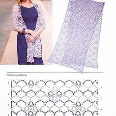 Best Ideas for crochet poncho lace wrap pattern Knitted Shawls, Crochet Scarves, Crochet Shawl, Free Crochet, Crochet Summer, Lace Shawls, Crochet Skirts, Hand Crochet, Crochet Storage