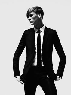 (General Lighting for Black and White Backdrop, both Sabri and Tony Formal Wear) Suit.