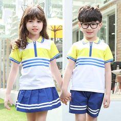$22.56 (Buy here: https://alitems.com/g/1e8d114494ebda23ff8b16525dc3e8/?i=5&ulp=https%3A%2F%2Fwww.aliexpress.com%2Fitem%2FChildren-s-Day-Children-s-Summer-School-Uniform-Cotton-Clothes-Group-Kindergarten-Class-In-Primary-And%2F32657695160.html ) Children's Day Children's Summer School Uniform Cotton Clothes Group Kindergarten Class In Primary And Secondary Schools for just $22.56