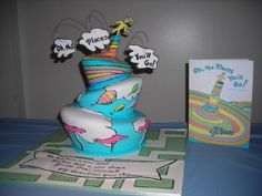 Oh, The Places You'll Go By Lizbvic on CakeCentral.com