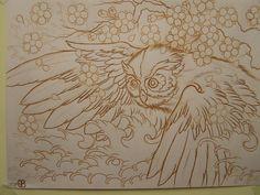 deviantART: More Like Sugar Skull Owl Tattoo by ~Sam-Phillips-NZ
