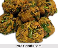 """Pala Chattu Bara also called """"mushroom chop"""" is an Oriya dish which is savoured as a snack. For the recipe visit the page. #recipe #vegetarian #food #snacks"""