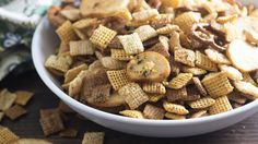 Classic Chex™ party mix is addictive enough, but this summer, we're going crazy and adding a kiss of ranch and an irresistible dill-pickle punch. You're welcome!