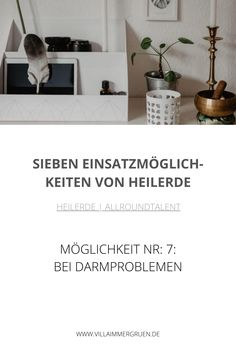 Heilerde |Allroundtalent - Möglichkeit Nr. 7: Bei Darmproblemen Shampoo, Healthy, Oil Control, Organic Beauty, Sustainability, Healthy Recipes, Health