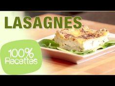 100% recettes - Lasagnes chèvre épinard