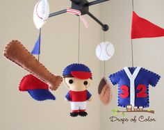 Baby Mobile Baby Crib Mobile Super Hero by dropsofcolorshop