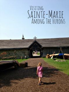Sainte-Marie Among The Hurons AND the Butter Tart Festival June 14 2014 : Midland, Ontario Great Places, Places Ive Been, Midland Ontario, Samuel De Champlain, Ontario Travel, O Canada, British Soldier, Family Road Trips, Forts