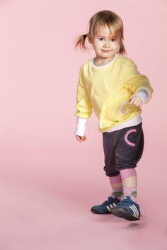 Jenni J.J. Short Pants- Carbon/Piglet  www.jennijj.fi