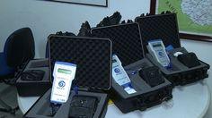 Polícia recebe bafômetro que detecta vestígio de álcool no ambiente +http://brml.co/1GjO7qk