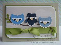 Punch Art - owls - bjl