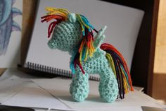 Ravelry: Crochet Pony Pattern inspired by My Little Pony: Friendship is Magic pattern by Terri Oda