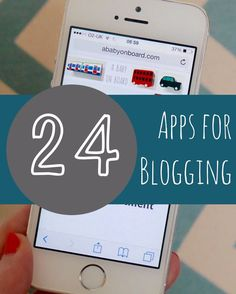 24 of the best time saving apps for blogging - to drive traffic and help with time management