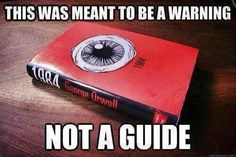 with Blackwhite, Doublethink and Alternative facts all a new paradigm for the post-truth Trumpian Age: 10 George Orwell Quotes That Predicted Life In The Modern-Day America Of Trump. George Orwell Quotes, Orwell 1984 Quotes, Truth Hurts, Thought Provoking, Book Quotes, Hero Quotes, Meant To Be, Shit Happens, Words
