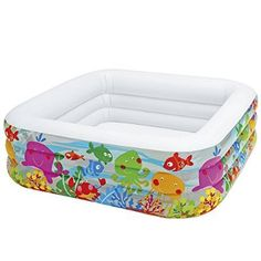 Intex Kinderpool Clearview Aquarium Pool, mehrfarbig, 159 x 159 x 50 cm