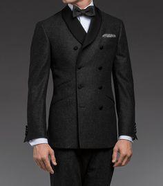 Too weird?..yeah, it's $2,000--Paul Stuart - Wool Flannel Tuxedo