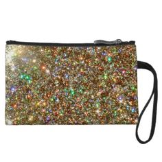 Gem Cluster Zip Top Clutch by BOLO CHIC.