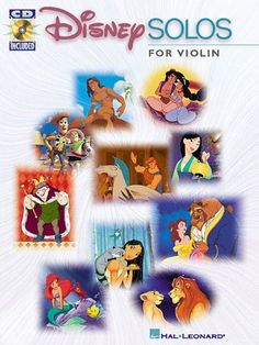 Disney Solos for Violin w/CD by Hal Leonard Corp. http://www.amazon.com/dp/0634000748/ref=cm_sw_r_pi_dp_ud5Kub00DFD8V