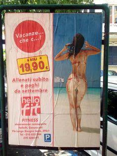 Per fare Ginnastica a Genova. Gym Fail, Advertising, Ads, Marketing Strategies, Social Issues, Concept, Tela