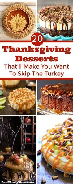 Hosting Thanksgiving dinner? Good luck deciding which of these mouthwatering Thanksgiving desserts to serve!