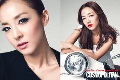 "Cosmopolitan Korea September 2014 ""Celeb Beauty"" #Sandara @krungy21 shares her #beauty tips #Clio #SalondeCara #Mascara #clubcliousa #dara #beautytips #makeup #cosmetics #cosmopolitan #makeuptips #kbeauty #september2014"
