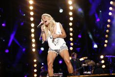 Carrie Underwood, Carrie Underwood performs at LP Field in Downtown Nashville on Sunday, June 9 during the 2013 CMA Music Festival. Photo courtesy of the CMA., 2013