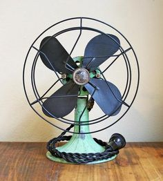 Vintage Mint Green Fan | Home Decor | The Fan Club | Scoutmob Shoppe | Product Detail