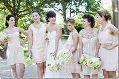 sweet pea wedding bridesmaids - Google Search