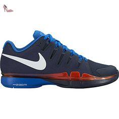 sneakers for cheap 3aaff 45d32 Nike Nike Zoom Vapor 9.5 Tour, Sneakers homme - blanc - Blanc, orange  (White   Black-Volt-Total Orange), 42 1 2 EU  Amazon.fr  Chaussures et Sacs