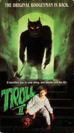 incredibly misleading poster for TROLL 2