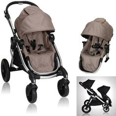 Baby Jogger City Select 2013 with FREE Second Seat Kit, Quartz