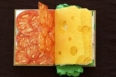 Sandwich Book by Paweł Piotrowsk #Design #ArtDirection #Papercuts
