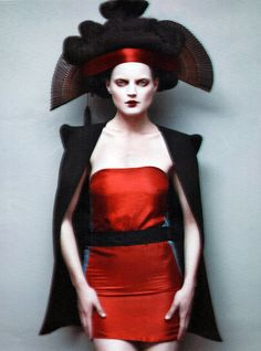 Guinevere van Seenus for British VOGUE, photographed by Paolo Roversi.