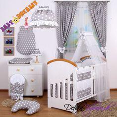 Mega sada baldachýn šifon Baby Dreams BUBBLES RETRO - Detské a kojenecké oblečenie, detská výbavička, kočíky, detské izby, detské postieľky, všetko pre deti