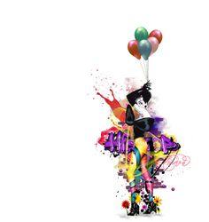 """""""LOVE SPLASHED"""" by violetlady on Polyvore"""
