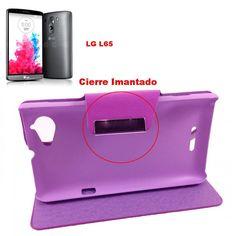 FUNDA Telefono Para LG L65 LIBRO Tapa Movil Flip Cover - http://complementoideal.com/producto/fundas/fundas-telefono-con-tapa/funda-tipo-libro-con-tapa-rigida-para-lg-l65/  - Con la Funda Tipo Libro Con Tapa Rígida Para LG L65 tendrás una protección total del tu teléfono móvil, ya que protege tanto delante como la parte de atrás de esta forma tendrás protección 100% del dispositivo. Diseñada exclusivamente para LG L65, encajandoperfectamente además de imitar
