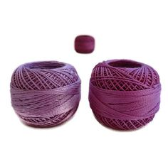coton yarn 3 balls fine crochet 8 number100 by yarnsupplies, $7.50