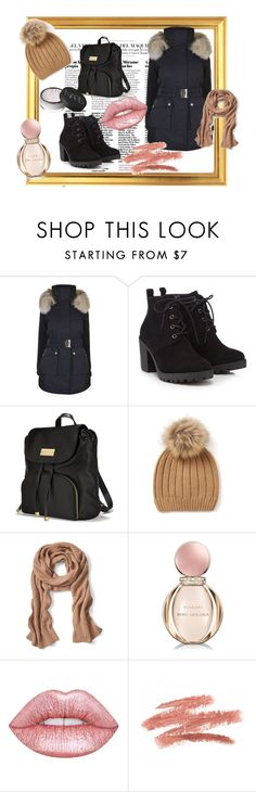 """Untitled #139"" by fashion-style-tv ❤ liked on Polyvore featuring K100 Karrimor, Red Herring, Victoria's Secret, Banana Republic, Bulgari, Lime Crime and NARS Cosmetics"
