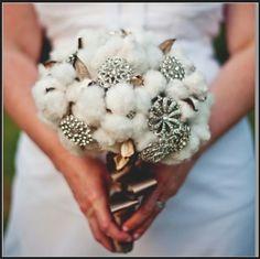 Bouquet fleur de coton