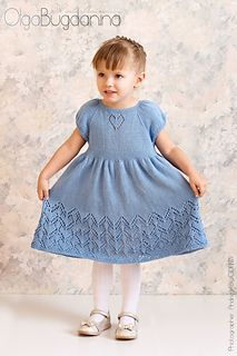 Little Helen Joyce Pattern by Taiga Hilliard Designs - Knit . - Small Helen Joyce pattern by Taiga Hilliard Designs – Knit - Baby Knitting Patterns, Knitting For Kids, Knitting Designs, Baby Patterns, Girls Knitted Dress, Knit Baby Dress, Baby Cardigan, Ravelry, Princess Dress Patterns
