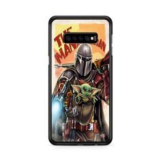 The Mandalorian And The Child Art Samsung Galaxy S10e   Miloscase Galaxy S8 Phone Cases, S8 Plus, Child Art, Mandalorian, Samsung Galaxy Note 8, Plastic Case, Perfect Fit, Art For Kids, Cool Stuff