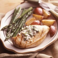 Chicken Breasts With Blue Cheese Butter from Land O'Lakes