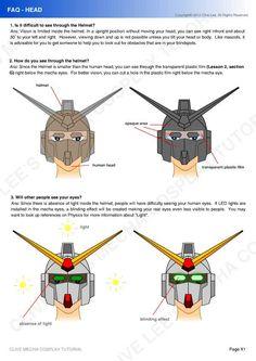 Insanely awesome gundam cosplay!!!  Gundam/Mecha cosplay tutorial - FAQ 1 by Clivelee.deviantart.com on @deviantART