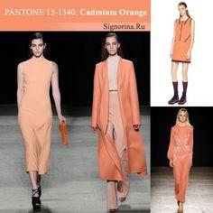 Модные цвета осень-зима 2015-2016 года, фото: Оранжевый кадмий (Cadmium Orange)